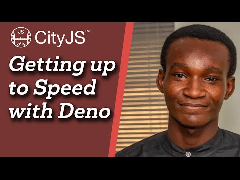 Image thumbnail for talk Getting up to Speed with Deno