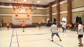 Giao lưu thể thao hữu nghị giữa Đại sứ quán 2 nước Việt Nam - Lào