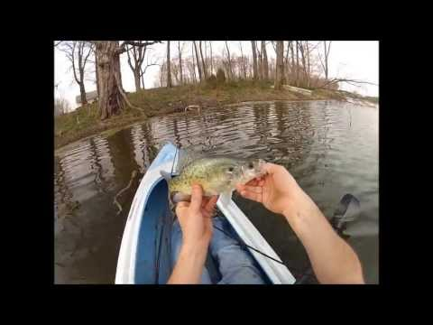First Kayak Pond Fishing of the Year
