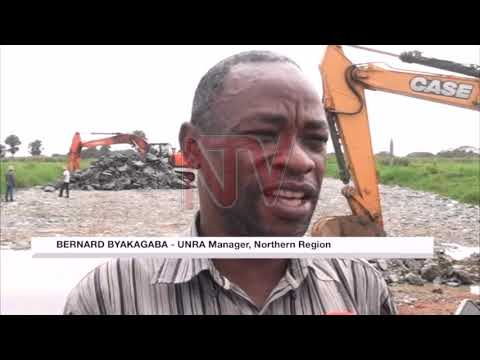 UNRA opens flooded Pakwach road