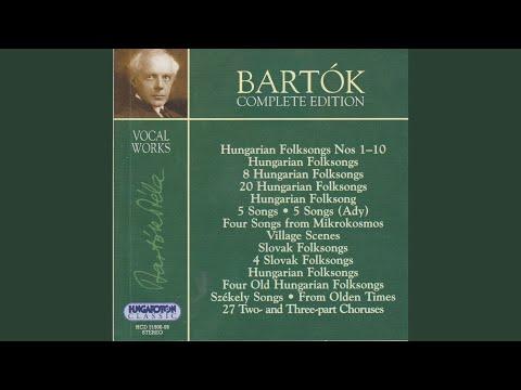 Canzone della Volpe - Béla Bartók