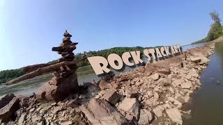 Rock Stack Art | Forck-In Quad FPV Cinematic Insta360 GO
