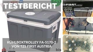 """ᐅ Unboxing- und Testbericht der elektrischen 40-Liter-Kühlbox """"FA-5170-2"""" von TZS First Austria ☑"""