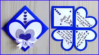 Easy and beautiful card for Mother's day / Mother's day card making very easy Handmade