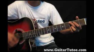 The All American Rejects - Mona Lisa, by www.GuitarTutee.com