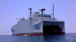 中国新下水了一艘怪船,没有装备任何武器,却引发世界关注