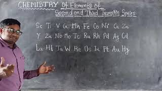 Electronic Configuration of 4d and 5d Series