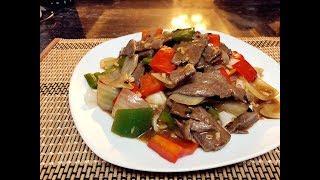 遲來的「豉椒濕炒牛河」經典廣東粥粉麵飯 Beef Chow Fun With Pepper & Black Bean Sauce