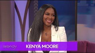 Kenya Moore Gets Candid