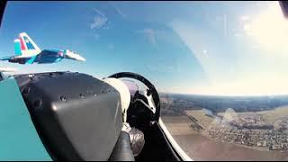 Полет на Су‑30СМ в 360°