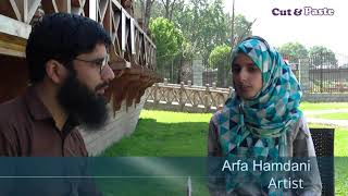 Arfa Hamdani - Young Artist from Kashmir