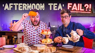 AFTERNOON TEA Recipe Relay Challenge | Pass it On S2 E24 | SORTEDfood