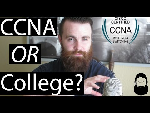 CCNA or COLLEGE? - Become a Network Engineer - YouTube