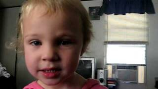 3 year old singing sissy's song by Alan Jackson