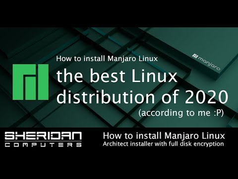 How to install Manjaro Linux using Architect installer with full disk encryption and btrfs.