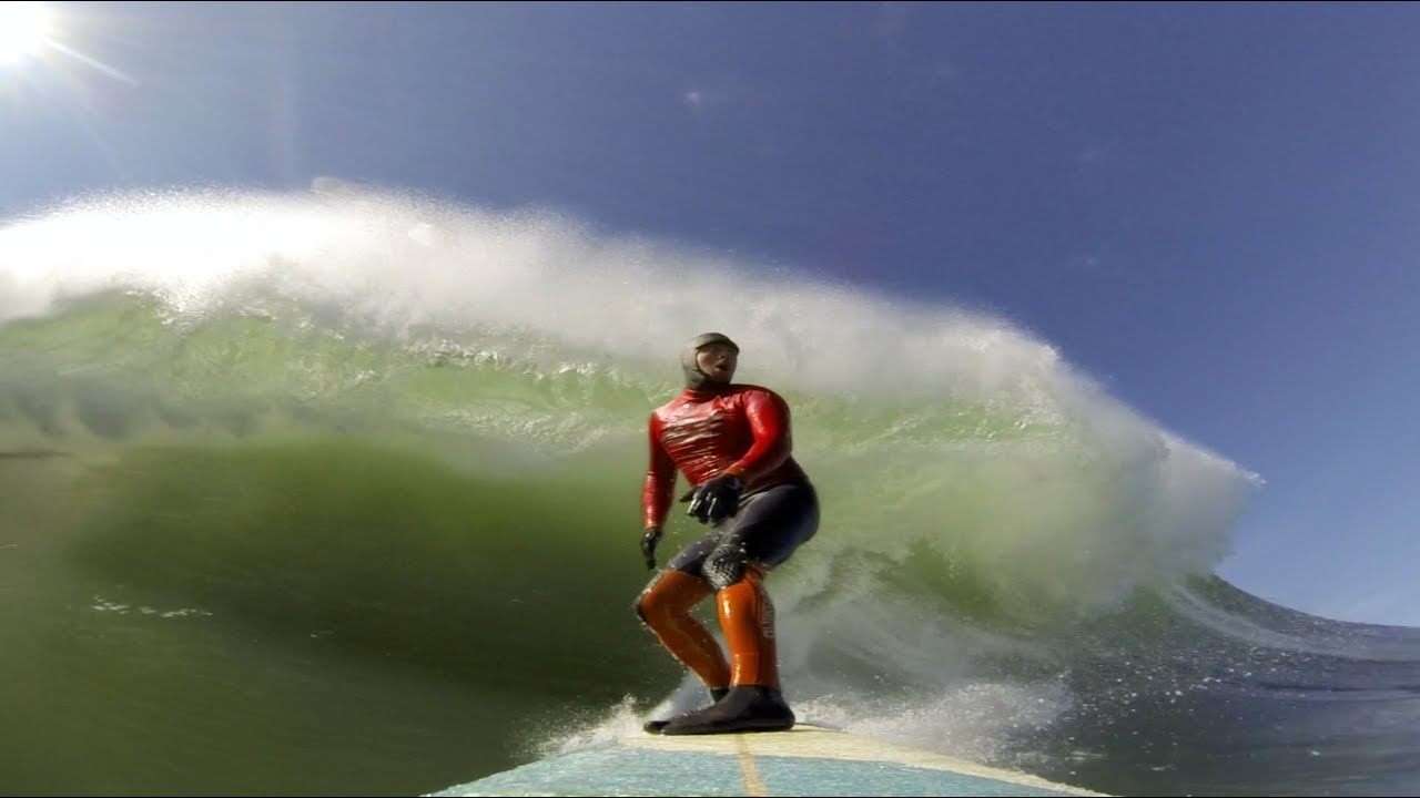 Video: Ride Along With Elite Surfers In The Mavericks Competition