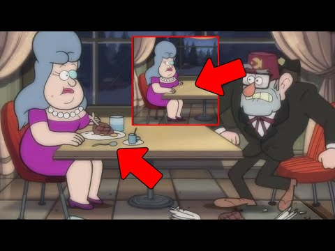 14 Errores de Gravity Falls Dificil de Notar (Parte 18)