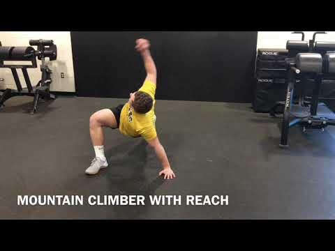 MOUNTAIN CLIMBER WITH REACH