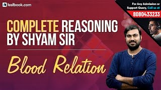 Complete Reasoning Class #2 | Blood Relation for SSC & Banking Exams | Best Reasoning Tricks