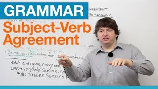 English Grammar: Subject-Verb Agreement with EACH, EVERY, ANY, SOME