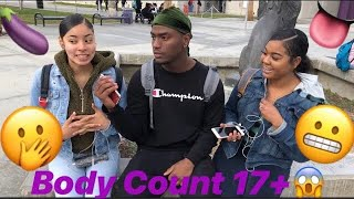 """""""WHAT'S YOUR BODY COUNT?""""😱🤦🏽♂️ (GETS TRAIN RAN🚂) 