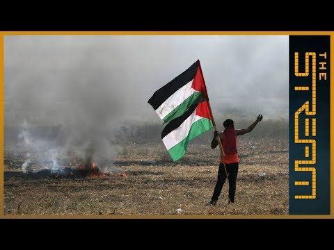 How is the Great Return March driving grassroots Palestinian activism?
