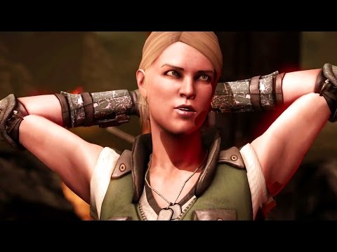 Mortal Kombat X - Sonya All Interaction Dialogues