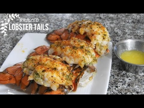How to Broil The  PERFECT LOBSTER TAIL Every Time!! 🦞🦞