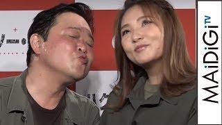 ダチョウ上島、野呂佳代とのキスは妻も公認?「野呂さんぐらいにしときな」 映画「ハクソー・リッジ」トークイベント会見1