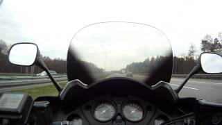 Honda CBF 1000 acceleration 0-220km/h