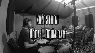 Video KAZOSTROJ - Hora /Drum cam/ (MALOMESTSKÁ MIZÉRIA@2020)
