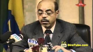 Interview with Prime Minister Meles Zenawi - English Part 1