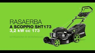 Istruzioni di montaggio Rasaerba a scoppio 3.2 kW 173 cc Supherba