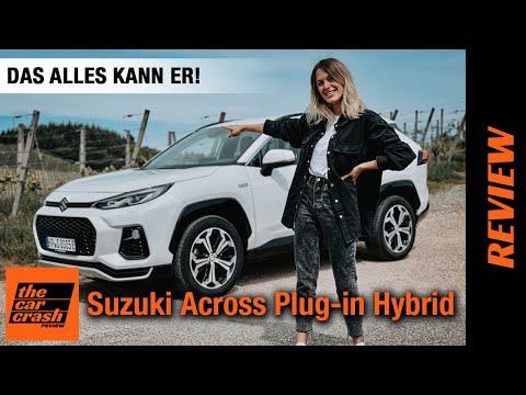 Suzuki Across (2021) Das ALLES kann der Plug-in Hybrid ab 49.000€! 🔌 Fahrbericht   Review   Test