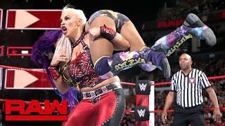 Sasha Banks vs. Dana Brooke: Raw, Aug. 27, 2018