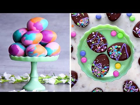 Last Minute Easter Treats | DIY Easter Egg Decorating Ideas By So Yummy | Spring 2018 Mp3