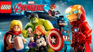 LEGO Marvels Avengers All Cutscenes  Full Movie  English Sub Español Game Movie 2016