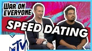 Alexander Skarsgård And Michael Peña Go Speed Dating | MTV Movies