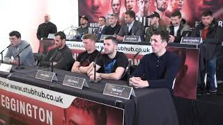 LIAM SMITH v SAM EGGINGTON **FULL & UNCUT** PRESS CONFERENCE / FOWLER v FITZGERALD / LIVERPOOL