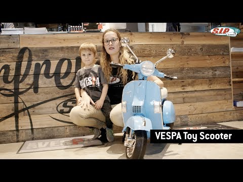Kinderroller VESPA 12V - Produktvorstellung