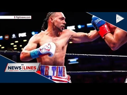 SPORTS NEWS: Thurman ready for Pacman