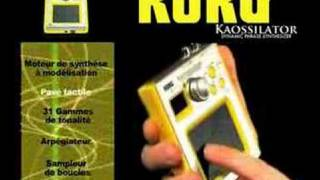 Korg Kaossilator pro+ - Video