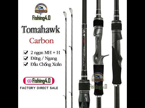 Cần câu lure Tomahawk 2 ngọn MH + H / giá rẻ siêu khỏe