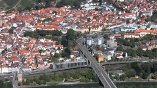 preview picture of video 'Ein Rundflug über Esslingen am Neckar'