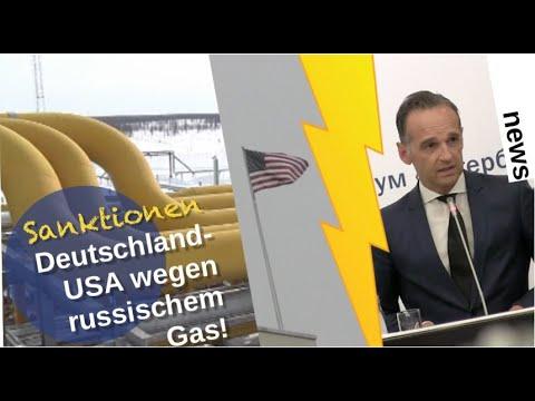 Sanktionen USA-Deutschland wegen russischem Gas! [Video]