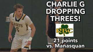 Red Bank Catholic 62 Manasquan 50 | Charlie Gordinier 21 points 8 rebounds
