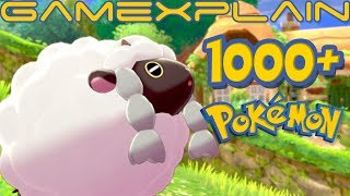 Masuda Reveals There's Now Over 1000 Pokémon With Pokémon Sword & Shield (Including Forms)