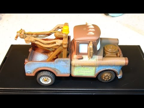 Disney Pixar Cars Unboxing Precision Series Mater With Our Mater Collection With Lightning McQueen