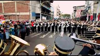 Banda marcial falcões de Itabuna tocando despacito