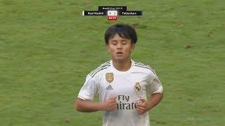 18 Year Old Takefusa Kubo Debut Games For Real Madrid! | Pre-Season Highlights